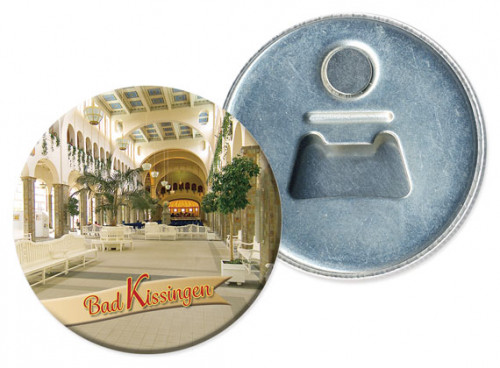 Flaschenöffner-Magnet Bad Kissingen 1210-R