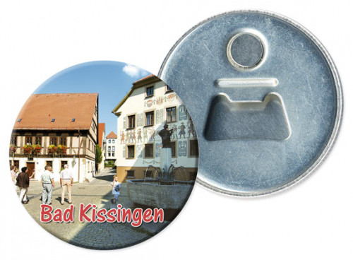 Flaschenöffner-Magnet Bad Kissingen 1212-R