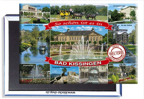 Photo-Magnet Bad KISSINGEN 1235