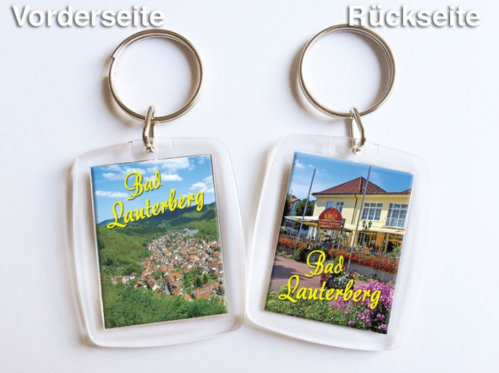 Acryl-Schlüsselanhänger Bad Lauterberg 1350