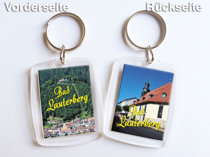 Acryl-Schlüsselanhänger Bad Lauterberg 1351