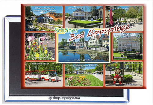 Photo-Magnet Bad LIPPSPRINGE 1409