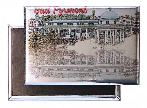 Photo-Magnet Bad PYRMONT 1831