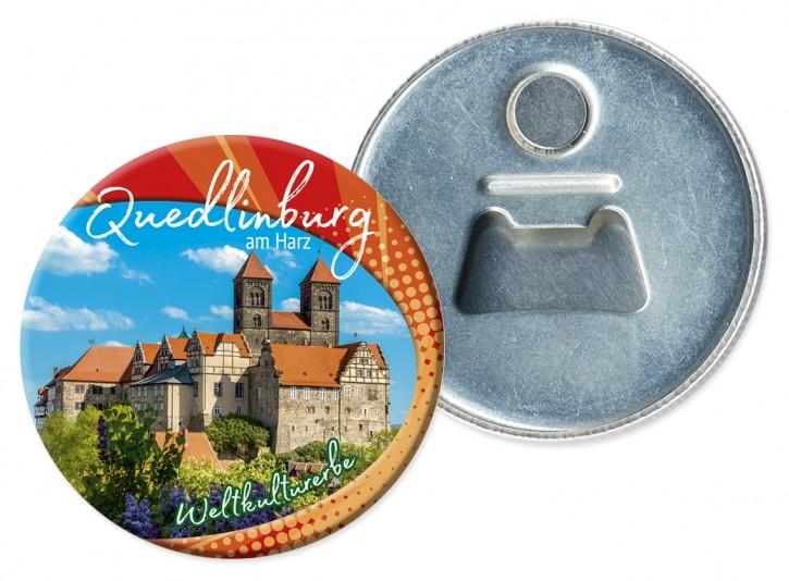 Flaschenöffner-Magnet Quedlinburg 1909