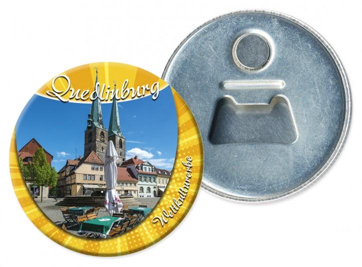 Flaschenöffner-Magnet Quedlinburg 1911