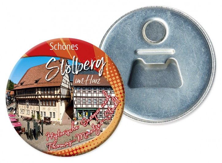 Flaschenöffner-Magnet Stolberg 2605