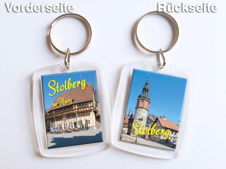 Acryl-Schlüsselanhänger Stolberg 2650