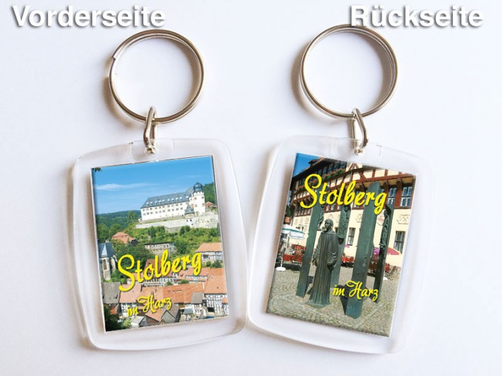 Acryl-Schlüsselanhänger Stolberg 2651