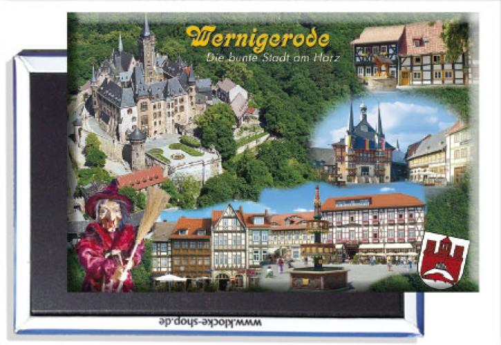 Photo-Magnet Wernigerode 3108 ohne Einzel-Kunststoffverpackung
