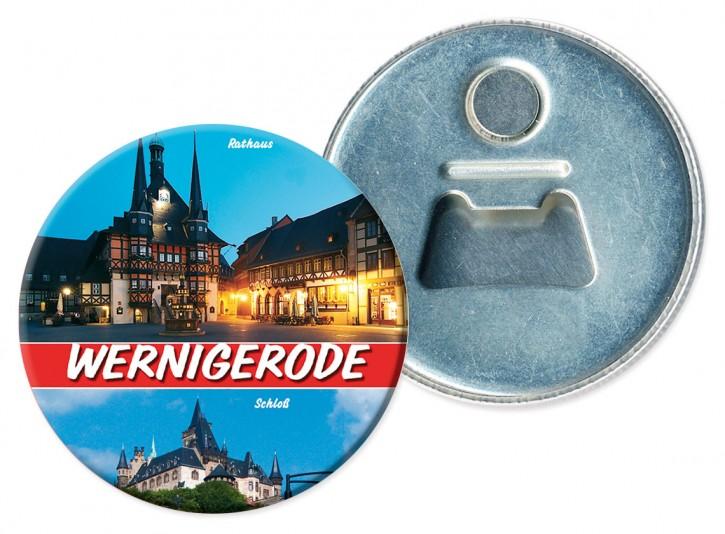 Flaschenöffner-Magnet Wernigerode 3110