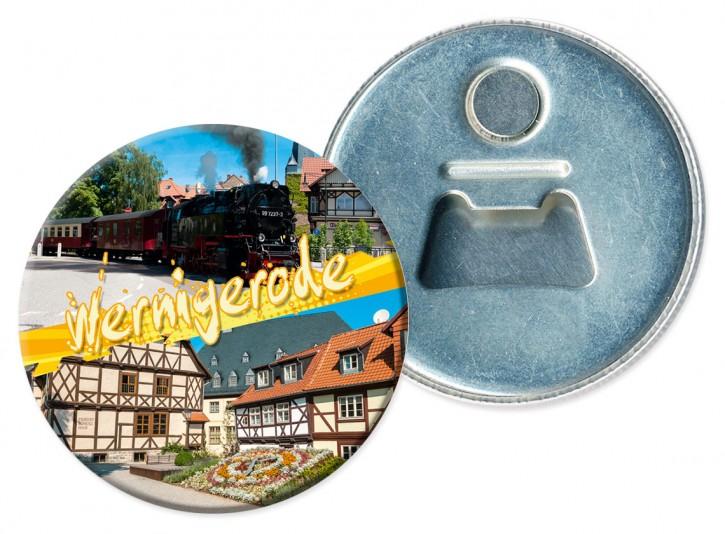 Flaschenöffner-Magnet Wernigerode 3111