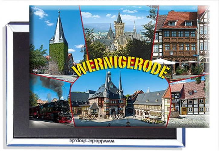 Photo-Magnet Wernigerode 3117 ohne Einzel-Kunststoffverpackung