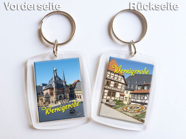 Acryl-Schlüsselanhänger Wernigerode 3150