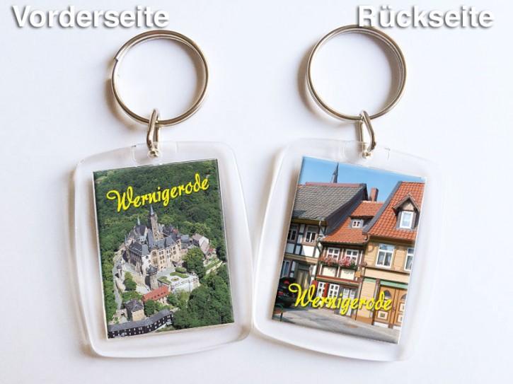 Acryl-Schlüsselanhänger Wernigerode 3151