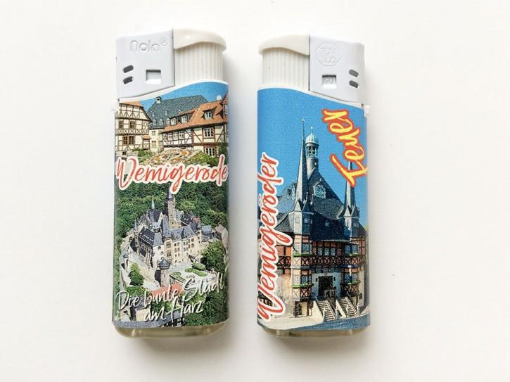 Feuerzeug mit Fotodruck Wernigerode 3160