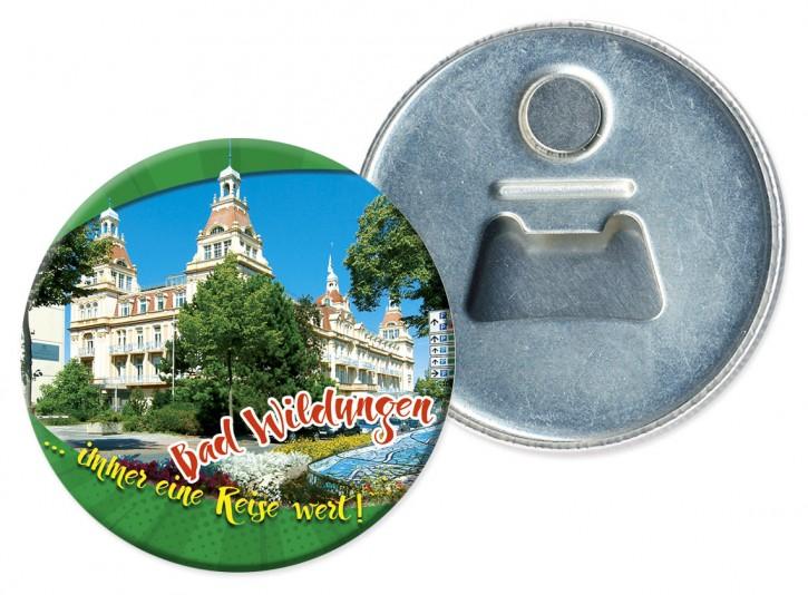 Flaschenöffner-Magnet Bad Wildungen 3205