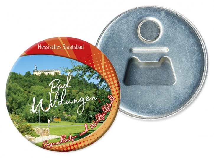 Flaschenöffner-Magnet Bad Wildungen 3207