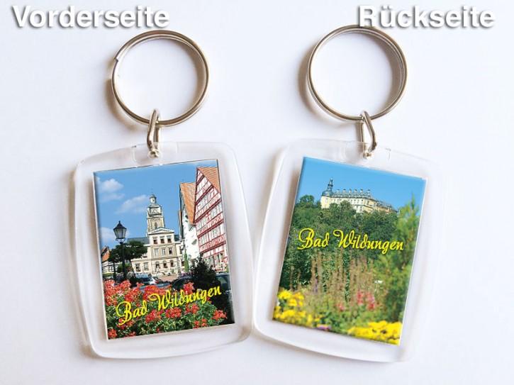 Acryl-Schlüsselanhänger Bad Wildungen 3251