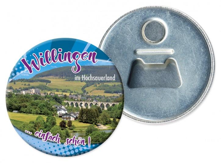 Flaschenöffner-Magnet Willingen 3321