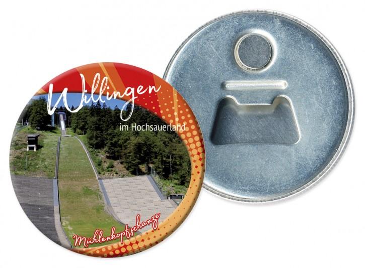 Flaschenöffner-Magnet Willingen 3322