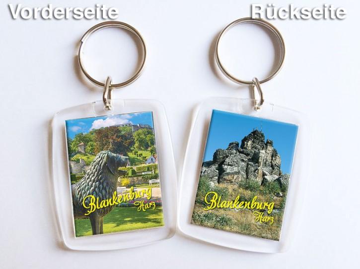 Acryl-Schlüsselanhänger Blankenburg 350