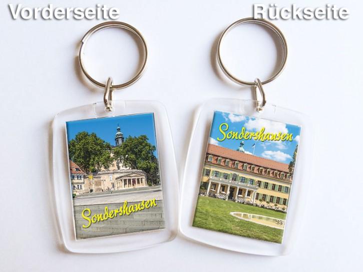 Acryl-Schlüsselanhänger Sondershausen 3550