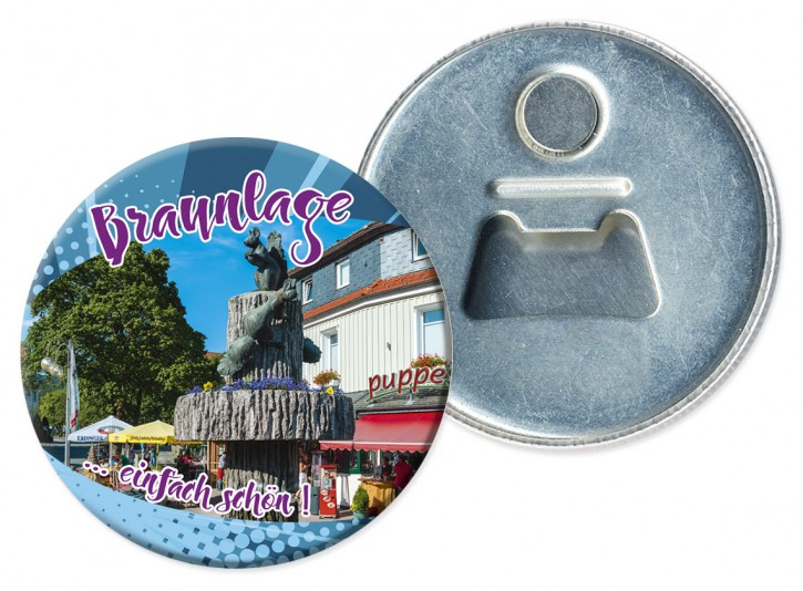 Flaschenöffner-Magnet BRAUNLAGE 410