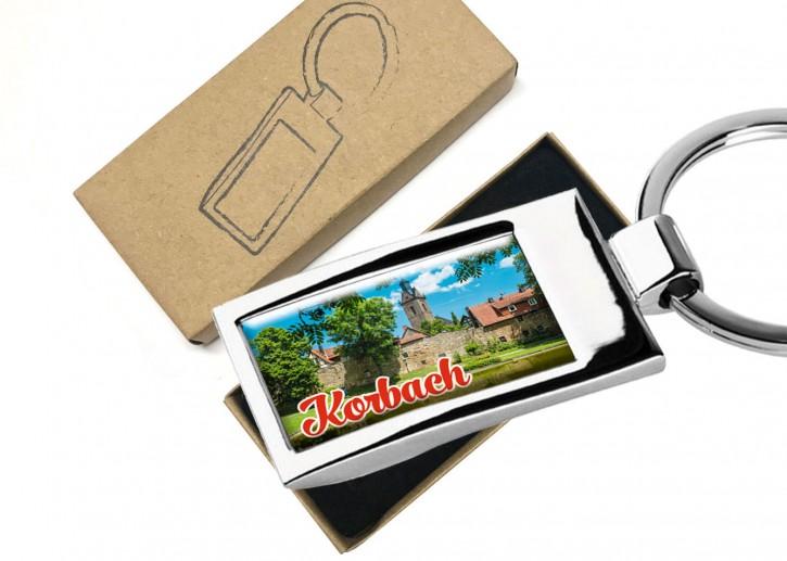 4551 Metall-Schlüsselanhänger Korbach