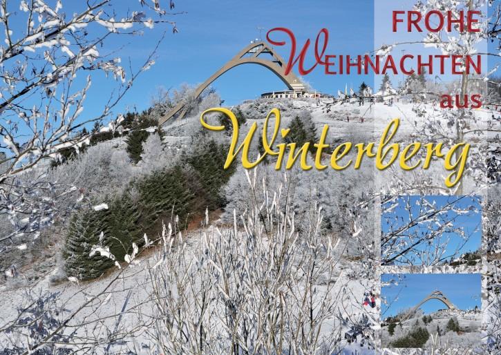 Weihnachtspostkarte Winterberg 59955-01