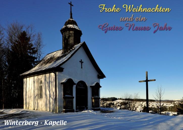 Weihnachtspostkarte Winterberg 59955-02