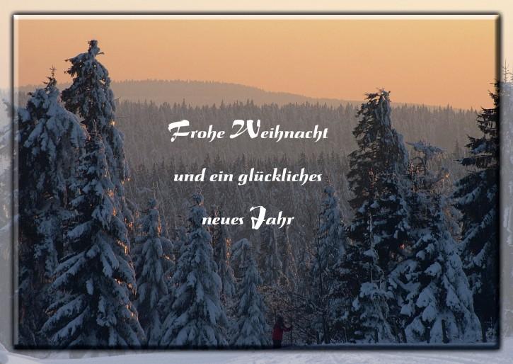 Weihnachtspostkarte Winterberg 59955-05