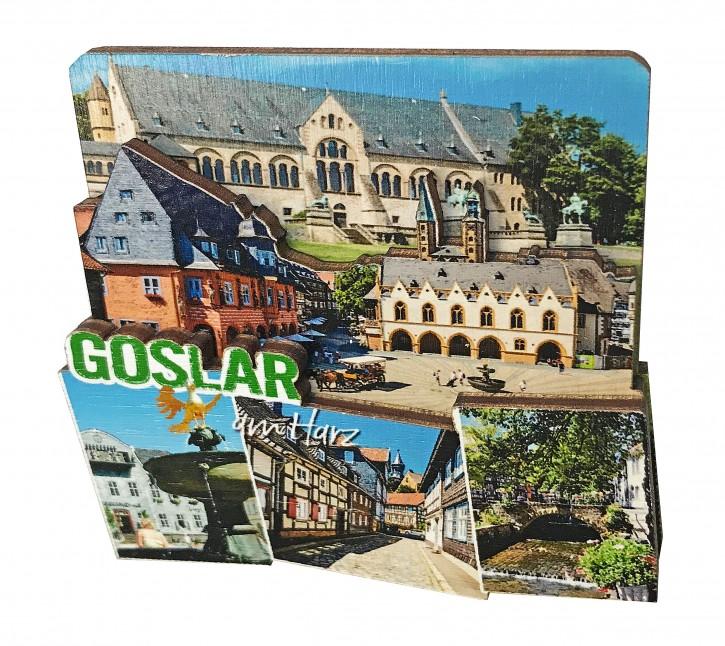3-D Holzmagnet GOSLAR 613
