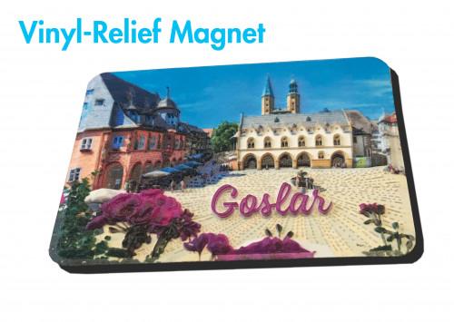 3-D Reliefmagnet GOSLAR 623
