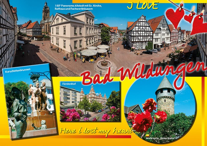MAXI-CARDS Bad Wildungen 6704
