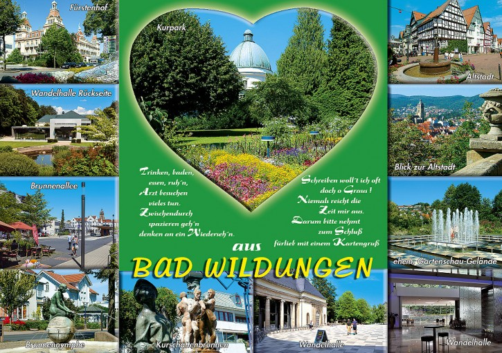 MAXI-CARDS Bad Wildungen 6707