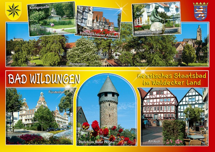 MAXI-CARDS Bad Wildungen 6708