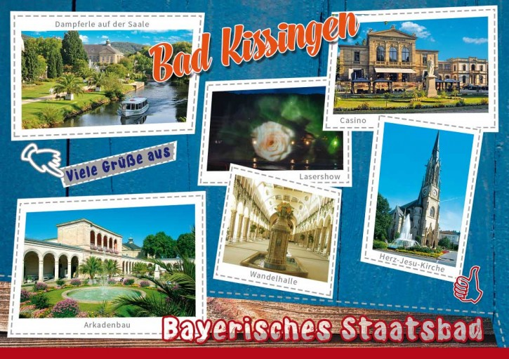 MAXI-CARDS Bad Kissingen 7707