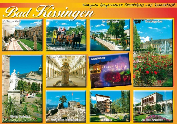 MAXI-CARDS Bad Kissingen 7708