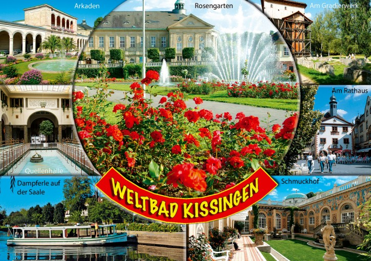 MAXI-CARDS Bad Kissingen 7709
