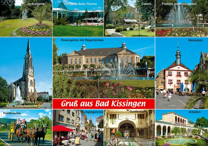 MAXI-CARDS Bad Kissingen 7711