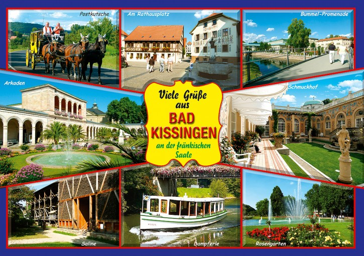 MAXI-CARDS Bad Kissingen 7713