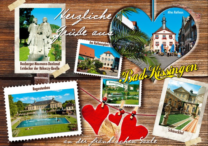 MAXI-CARDS Bad Kissingen 7716