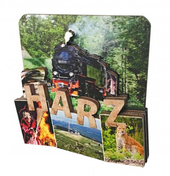 3-D Holzmagnet HARZ 854