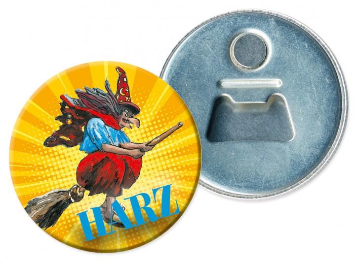 Flaschenöffner-Magnet Harz 860