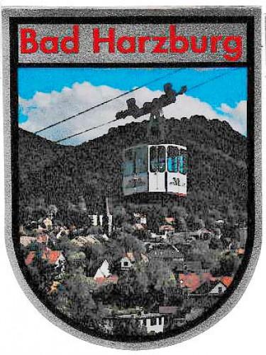 Aufkleber Bad Harzburg 9074