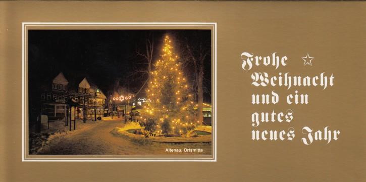 Weihnachtskarte ALTENAU W-005-O