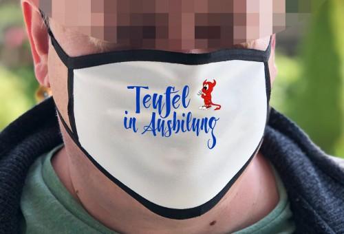 Behelfsmaske mit Fotodruck HARZ -003