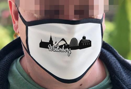 Behelfsmaske mit Fotodruck Winterberg-01