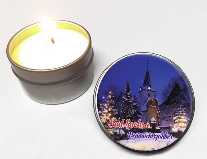 Duft-Kerze RUND Bad Sachsa-2271