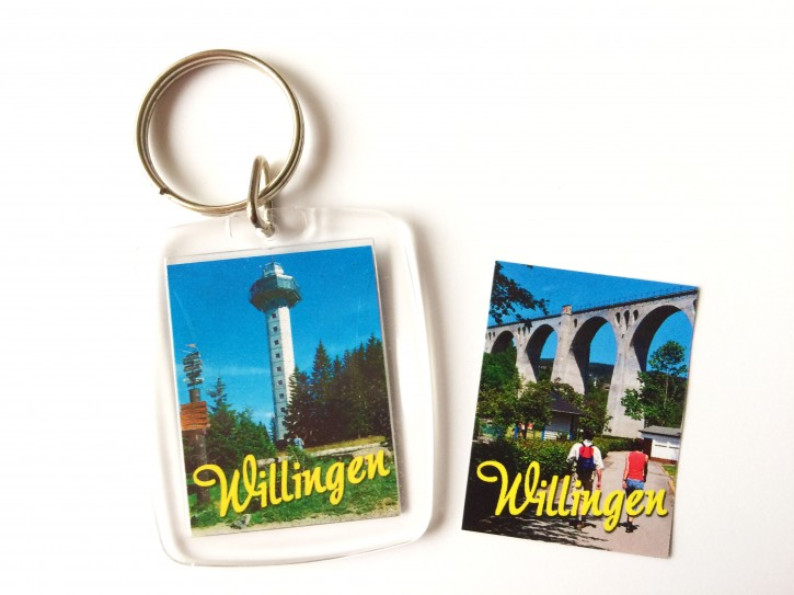 Acryl-Schlüsselanhänger Willingen 3351